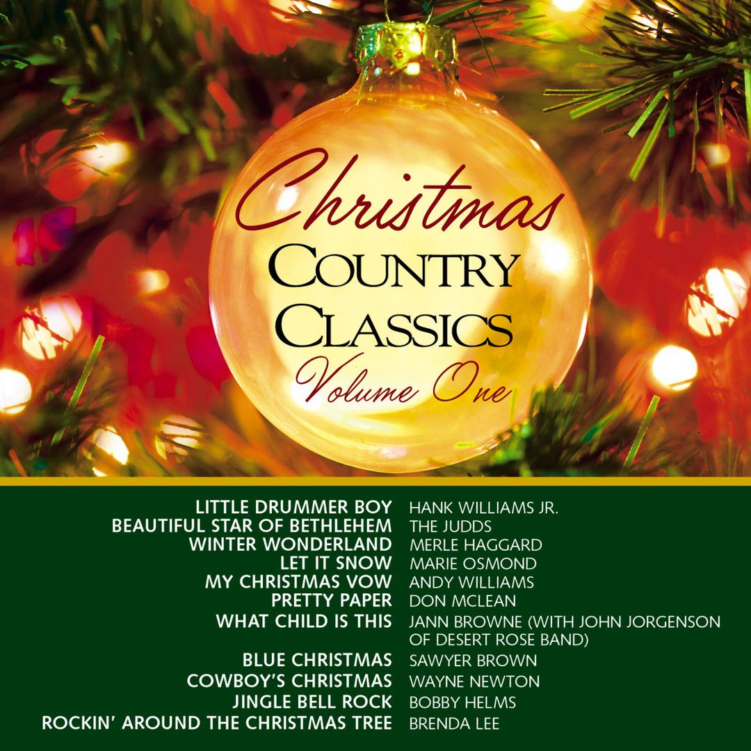 christmas country classics vol 1 album by various artists holiday11 songs 1991 - Christmas Country Songs