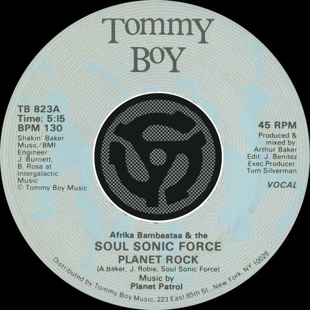 Planet Rock by Afrika Bambaataa & The Soul Sonic Force - Pandora